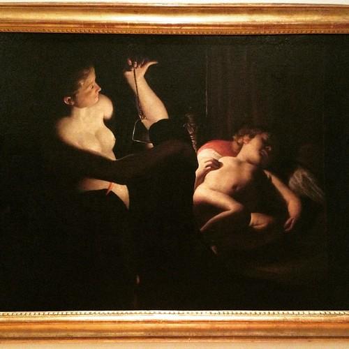 Cupido y Psique / Domenico Morone