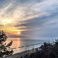 alba (valerio vannicola) Tags: sky sunrise landscapes mare alba sunsets cielo paesaggi