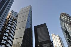 City skyline (stevekeiretsu) Tags: london lloyds ssc 30sma herontower 122lh