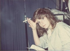Tammy, February 1992 (STUDIOZ7) Tags: woman girl cigarette smoking teen teenager smoker 1990s 90s ninties