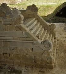 TUMULO II DEL SODO A CORTONA - 559 (opaxir) Tags: archaeology tuscany toscana cortona necropolis sodo etruscan tumulo archeologia etruschi necropoli