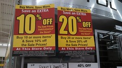 Buy More. Save More. (Retail Retell) Tags: lake retail moving sale save more ms buy horn closing officemax
