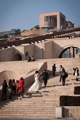 Armenian wedding (DubeFranz) Tags: cascades armenia yerevan photoshooting