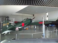 Yamato Museum  (Araiguma Rascal) Tags: museum nokia fighter yamato zero mitsubishi kure 808 a6m