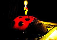 Happy birthday with a Ladybug   cake (dedicated ) (mare_maris (very slow)) Tags: birthday family light red party food brown black love home animal yellow cake festive pie dessert fun happy colorful day candle candy sweet chocolate anniversary year cartoon decoration ceremony happiness insects sugar special explore delicious indoors event eat flame burn age gift snack questionmark wishes fancy surprise happybirthday present ladybug romantic treat taste cheerful dedicated celebrate decorate pisces bake greeting aries wishing foodphotography howoldareyou sweettreats borninmarch nikond5100 maremaris nifkond5100