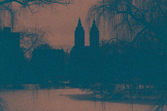 Central Park (Rafakoy) Tags: park city nyc winter urban ny newyork film water kodak centralpark manhattan 110 grain 200iso pocket instamatic 2015 thesanremo epsonv600 epsonperfectionv600 resdcale lomographylobster200 intamatic60