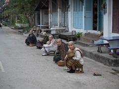 Warten auf die Mönche
