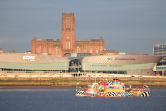 Mersey Conventions (Bluden1) Tags: ferry liverpool river ferries mersey snowdrop merseyside