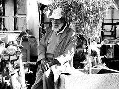 """In The Mornings In Marrakech Sun Shines Brightly"". Moroccan Portraits by Elena Savonicheva, 2015 (elenasavonicheva) Tags: old travel portrait blackandwhite sun man hot tree sunshine portraits square photography photo blackwhite motorcycles morocco maroc motorcycle marrakech oldmen blackwhitephoto hotweather travelphotography travelphoto travelpics travelpic"