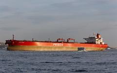 Istanbul 269 (Alexxx1979) Tags: city november autumn turkey ship istanbul strait bosphorus oiltanker осень город турция ноябрь 2013 судно стамбул босфор пролив танкер priscomizar