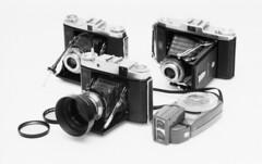 Zeiss Ikon Trio II (holtelars) Tags: spotmatic spotmaticf supertakumar 85mm f19 film analog rollei rpx rpx400 rolleirpx400 af540fgz larsholte folding folder camera 6x6 6x9 zeiss ikon ikonta nettar novaranastigmat 105mm f63 75mm f45 f35 lunasix3 gossen gossenlunasix3 homeprocessing atl1500 400iso autolab lighttable monochrome filmphotography filmforever bw jobo 120 120film asahi pentax
