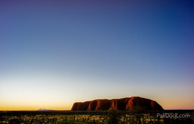 Uluru & Kata Tjuta Sunset
