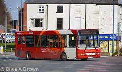 DSC_7618w (Sou'wester) Tags: bus buses warrington publictransport busstation psv