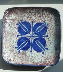 Persia Glazed Bowl - Marianne Starck for Michael Andersen & Son (5817) (Ahornblatt2012) Tags: vintage ceramic 60s plate persia bowl glaze danish pottery modernist midcentury bornholm keramik designclassic michaelandersenpottery mariannestark