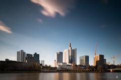 Skyline Frankfurt Main (Mareike Jordan) Tags: skyline riverside frankfurt main ufer ffm