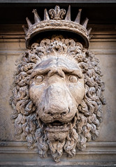 The Stately Lion (Pixel_Runner) Tags: italy sculpture art animals statue florence europe lion places tuscany firenze subject toscana mammals