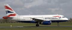 Airbus A-319 G-EUPK (707-348C) Tags: dublin airbus passenger britishairways dub airliner jetliner baw a319 airbusa319 collinstown eidw geupk