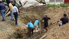Aguas del Chuno EP contina arreglos en Puerto Arturo (GadChoneEC) Tags: arreglos puertoarturo aguasdelchunoep