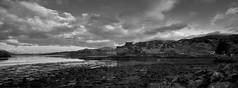 Eilean Donan Castle - Black & White (momathew) Tags: castle eilean donan eileandonan lochalsh castleeilean castlescottish highlandsscotlandkyle