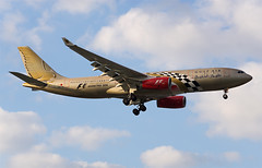 Gulf Air A330-200 A9C-KB (Johannes_K) Tags: london 1 paint gulf heathrow aircraft aviation air rollsroyce special landing trent airbus formula 700 scheme a330 lhr livery planespotting a330200 egll a332 a9ckb