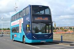 Arriva AD Enviro 400 7511 NK57GXD - Berwick-upon-Tweed (dwb transport photos) Tags: bus alexander dennis enviro decker berwickupontweed arriva 7511 nk57gxd