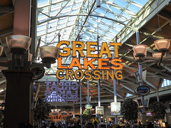 Great Lakes Crossing (Nicholas Eckhart) Tags: usa sign retail mi america mall us interior auburn hills massive stores foodcourt outlets greatlakescrossing outletmall 2016