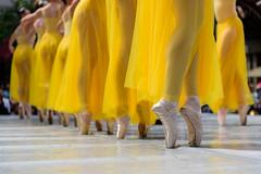 Ballet [Explored] (pn.praveen) Tags: ballet yellow dance colours sjdanceco