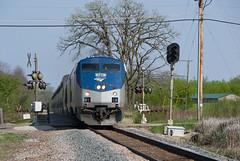 Amtrak180PewaukeeWI5-8-16 (railohio) Tags: wisconsin 7 trains amtrak cp 27 signal empirebuilder pewaukee 050816 d3100