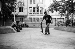 ... (d-kings) Tags: blackandwhite blancoynegro film analog 35mm canon 50mm blackwhite skateboarding f14 skate skateboard analoga analogue ilfordhp5plus400 ilford sk8 eos500n analogo dkingsphoto buyfilmnotmegapixels