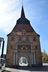 Rostock Germany.  Another city gate.  Only a few survive. (Anne and David.) Tags: germany rostock citygate