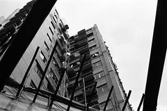Shoots (klolam) Tags: blackandwhite film monochrome 35mm hongkong lomography pentax analogue pentaxmesuper