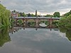 The New Bridge at the bottom of Buccleuch Street in Dumfries crossing the River Nith at the White Sands (penlea1954) Tags: street new uk bridge white water architecture river scotland arch outdoor bridges sands buccleuch dumfries galloway nith