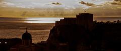 Lovrijenac Fortress Silhouette (William Horton Photography) Tags: sunset croatia sillouette dubrovnik lovrijenac dubrovnikoldtown