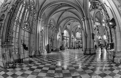Catedral Primada Santa Mara de Toledo (Vladimir Lazarov) Tags: bw church nikon cathedral interior indoor fisheye fx zenitar d610 16mm28