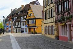 Walking in Colmar (annalisabianchetti) Tags: street city urban france colors cityscapes colmar alsace francia alsazia