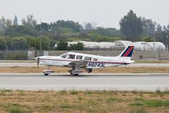 Private Piper PA-32-301T Turbo Saratoga N8243L (jbp274) Tags: airport saratoga airplanes longbeach lgb piper klgb pa32 daughertyfield