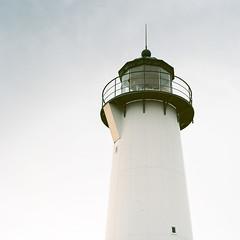 Smyge Lighthouse - Ektar 100 (magnus.joensson) Tags: winter zeiss coast skne kodak sweden harbour south swedish 100mm hasselblad 100 planar 500cm ektar c41 smyge