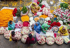 Flower market! (ashik mahmud 1847) Tags: road street people woman flower color market outdoor ngc nikkor bangladesh yourbestoftoday d5100