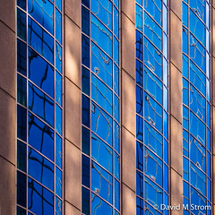 Minneapolis Windows (David M Strom) Tags: lines skyscraper olympusomdem5 shapes minneapolis reflections architecture davidstrom minimal abstract