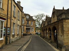 Chipping Campden, Gloucestershire (tmvissers) Tags: uk england ancient cotswolds lane chipping markethall campden