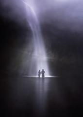 (Carlos Andrs Rivera) Tags: dark waterfall colombia cascada cauca
