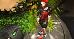 satan (aarontj90) Tags: male pose pumpkin cool mesh jesus hipster sl secondlife lamb sabotage seul tmp tmd slfashion evolove valekoer