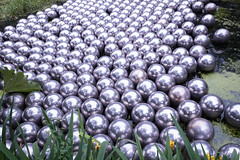 Balls balls balls (grannie annie taggs) Tags: abstract reflection art exhibition round spheres kusama