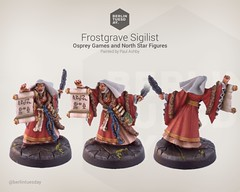 Sigilist / Frostgrave / NorthStar (berlintuesday) Tags: painting miniatures painted fantasy tabletop minis wargames northstar wargaming warmongers soothsayer frostgrave sigilist musyical apprenticemodels