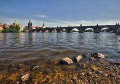 Karlv most (toulavej54) Tags: praha most vltava voda msto eka