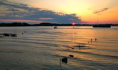 Summer is... (Yannis Raf) Tags: summer summeringreece hdr sunset waterskiing waterski greece sea seaside seascape portoheli postcard xiaomiredminote3 xiaomi redmi