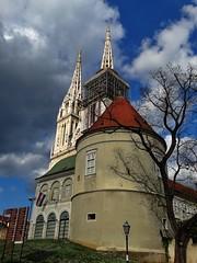 The Zagreb Cathedral on Kaptol (Miroslav Vajdi) Tags:  i    vip