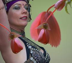 She Dances (swong95765) Tags: flowers woman beauty dancer mesmerizing