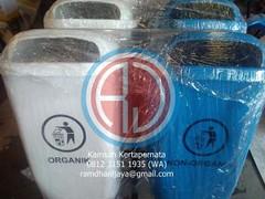 Tempat Sampah Fiber Organik dan Anorganik (Ramdhani Jaya) Tags: news fiber tong tempat sampah