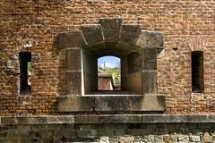 IMG_Embrasure (Ji tusk) Tags: window gate fort brna okno buidings olomouc embrasure eskrepublika stavby pevnost olomouckkraj stlna